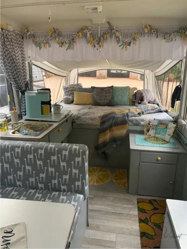 diy pop up camper remodel