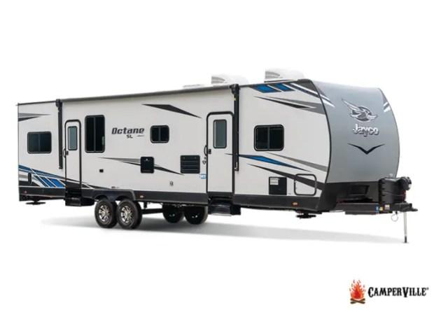 2020 Jayco Octane 161 Super Lite Toy Hauler Camper Trailer - External View