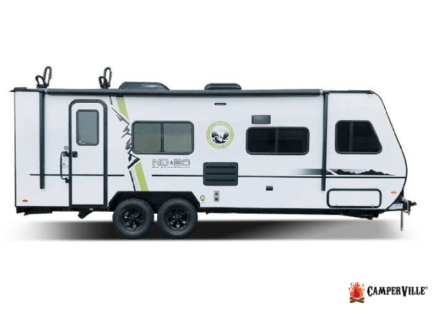 2021 Forest River No Boundaries-19.1 Toy Hauler Camper Trailer - Exterior