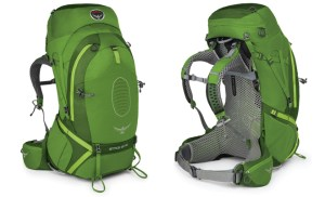 The Osprey Atmos 50 AG Front and Back