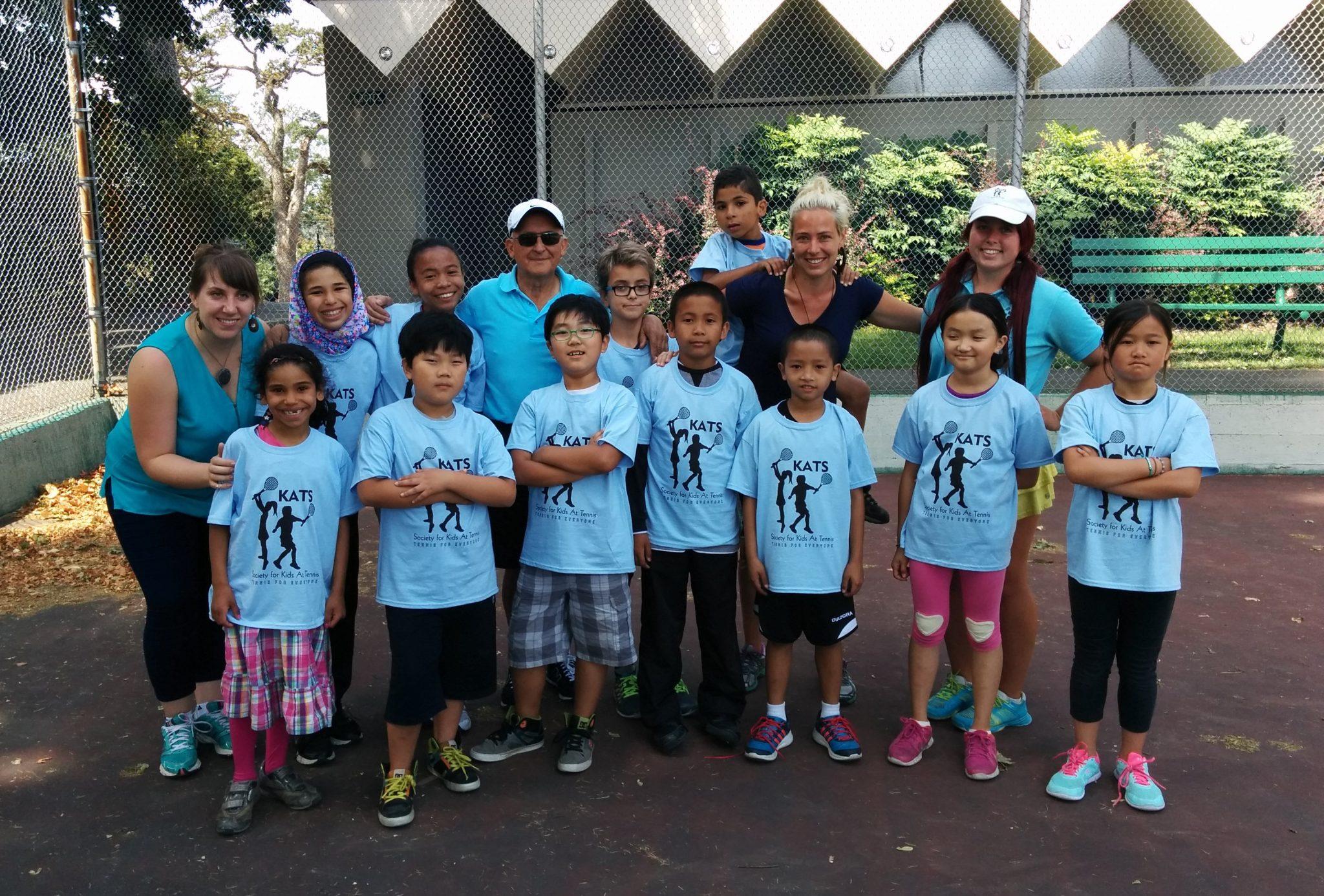 Intercultural Association KATS Tennis Class