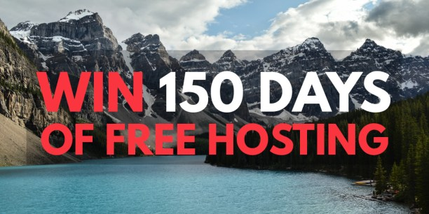 canada, canada day, canada150, free hosting, giveaway, grand prize, prize, social media, social media contest, canadian web hosting