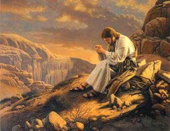 Resultado de imagem para imagem de Jesus tentado no deserto - canção nova