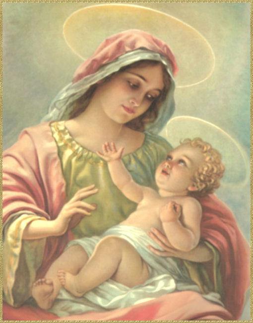 Resultado de imagem para maria e Jesus