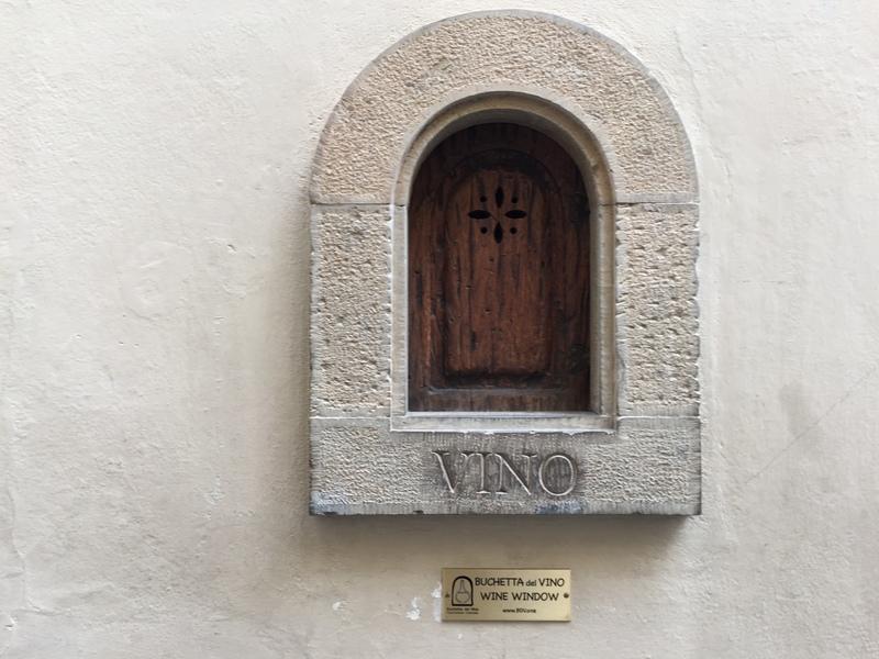 wine window