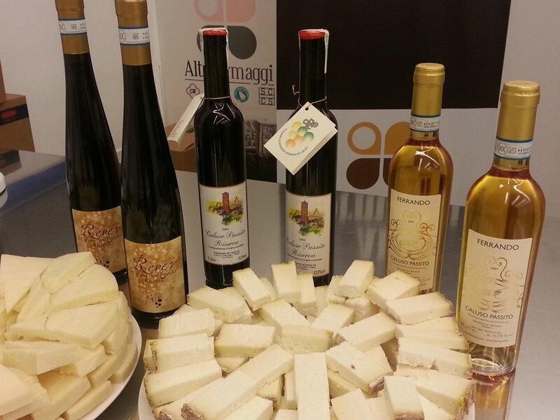 vino erbaluce abbinamento formaggi