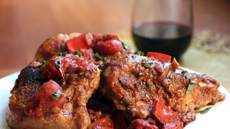pollo e vino