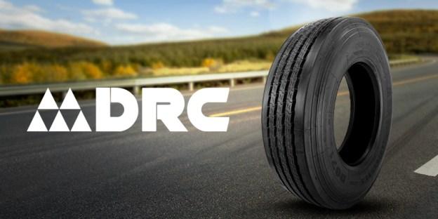 Pneus DRC: qualidade para o caminhão
