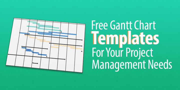 This article explains how to create a project schedule and a calculation table to generate a gantt ch. Free Gantt Chart Templates For Your Project Management Needs