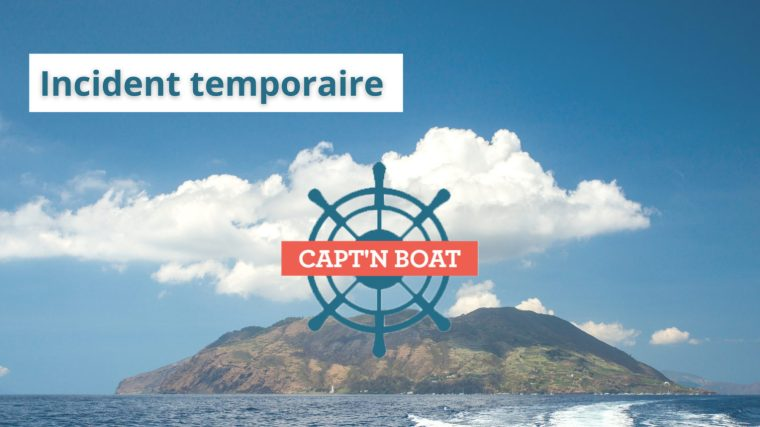 Site Capt'n Boat inaccessible