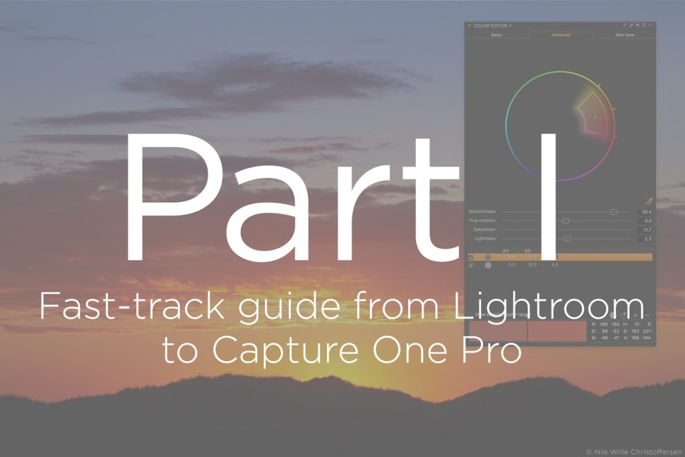 Capture One Blog » Blog Archive Fast-track guide from Lightroom to