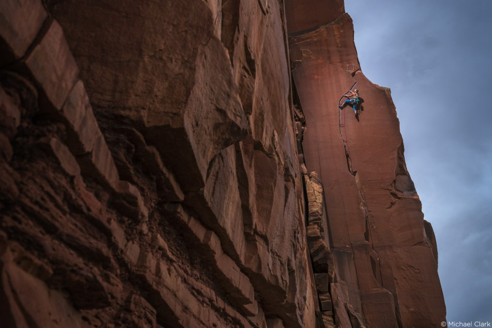 capture one raw photo editor changing it up with Capture One by Michael Clark using Fujifilm GFX100 Sparky Go (5.11) on the Sparks Wall in Indian Creek, Utah.