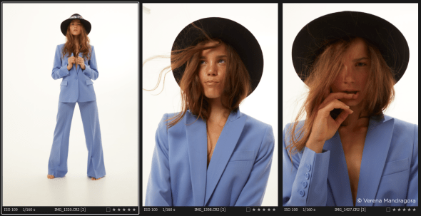 Capture one raw photo editor blogpost mareike keicher color harmonies complimentrary colors before editing contact sheet from shoot
