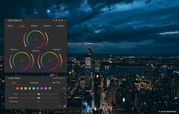 What's new in Capture One 20 blogpost software screenshot color editor