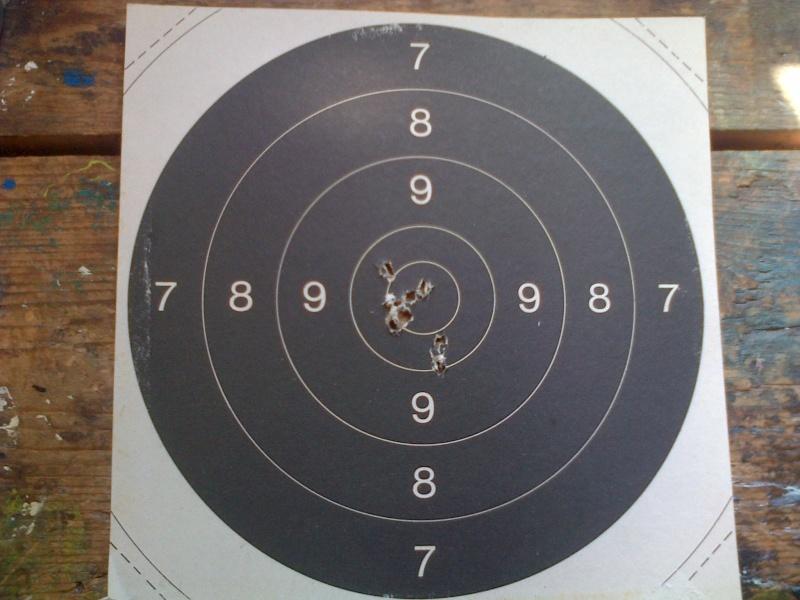 précision cible carabine a plomb