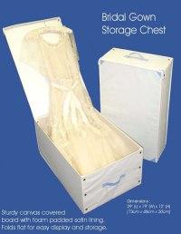 Storage Boxes For Wedding Dresses - Junoir Bridesmaid Dresses