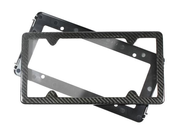 Audi R8 Carbon Fiber License Plate Frame