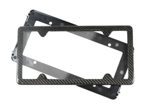 TagArmur real carbon fiber license plate frame