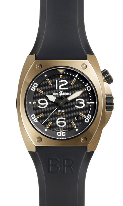 Bell & Ross BR 02 Pink Gold