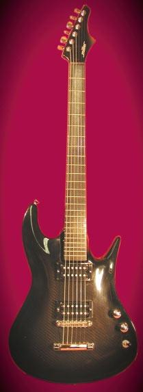 Miller Instrument carbon fiber guitar