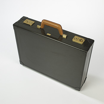 Hermes carbon fiber briefcase