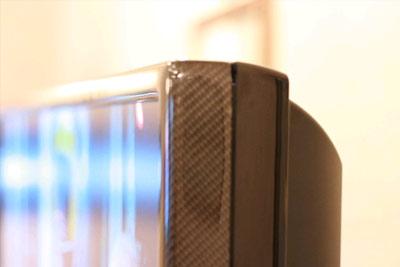 Toshiba Regza carbon fiber LCD TV