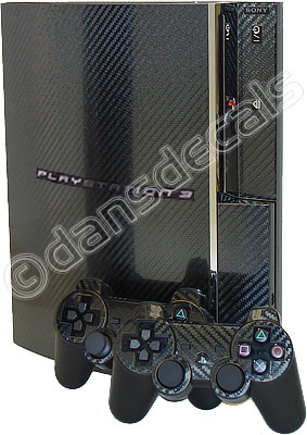 Dan�s Decals Carbon Fiber PS3 skin