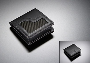 Nissan GT-R collection carbon fiber coin case