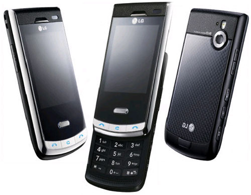 LG Secret carbon fiber phone