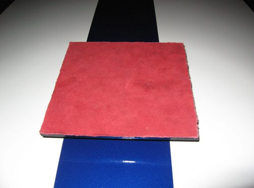 Carbon fiber Ferrari gas cap paperweight
