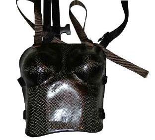 Carbon fiber corset