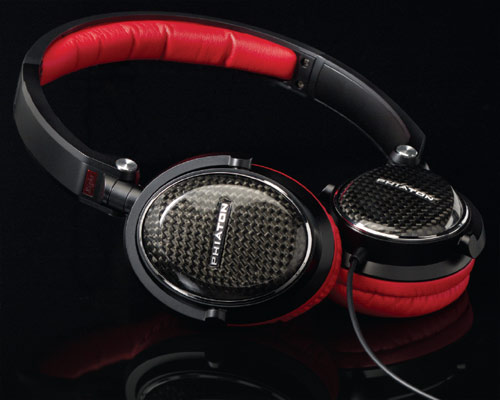 Phiaton MS series carbon fiber headphones