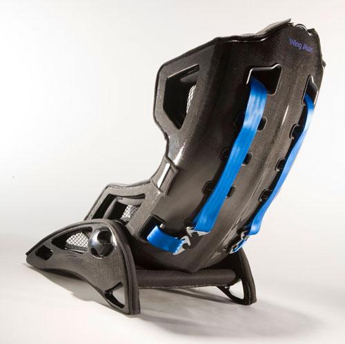 Carbon fiber baby seat concept