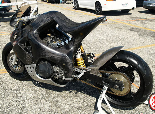Fully Custom Carbon Fiber GSX-R 1100 Show Bike Shows Up On