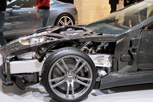 Aston Martin One 77 Supercar Carbon Fiber In The Raw