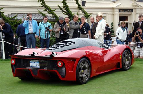Ferrari P4/5 back