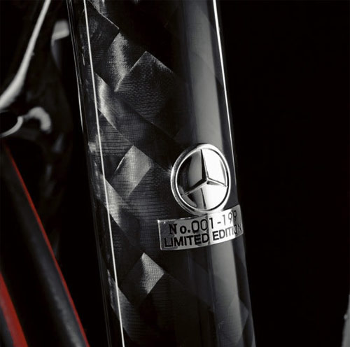 Mercedes-Benz carbon fiber bicycle