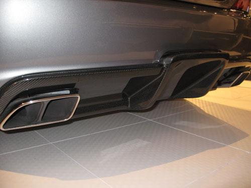SL65 AMG carbon fiber rear diffuser