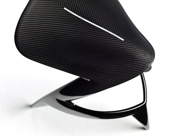 Jordi Mila Hot Rider Carbon Fiber Stool