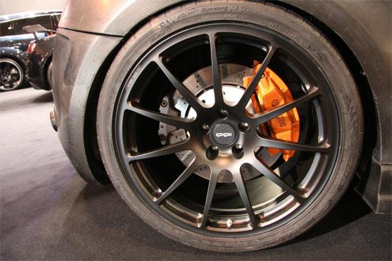 PPI Razor GTR Audi R8 wheel