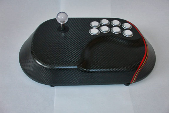 Custom Carbon Fiber Joystick For You Gaming Nuts