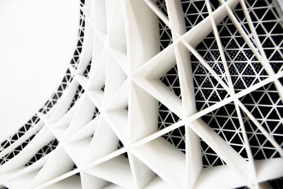 Gaudi stool structure
