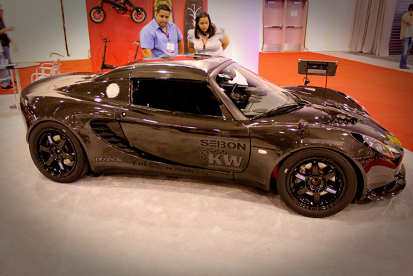 Seibon carbon fiber Lotus Elise from SEMA 2009