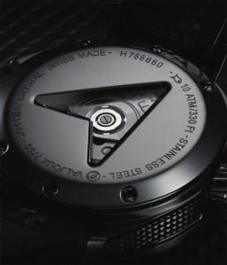 Hamilton X-Mach watch back
