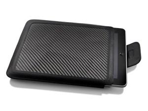Ion CarbonJacket carbon fiber and leather Apple iPad sleeve