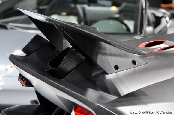 Lamborghini Unveils Sesto Elemento Carbon Fiber Showcase Concept