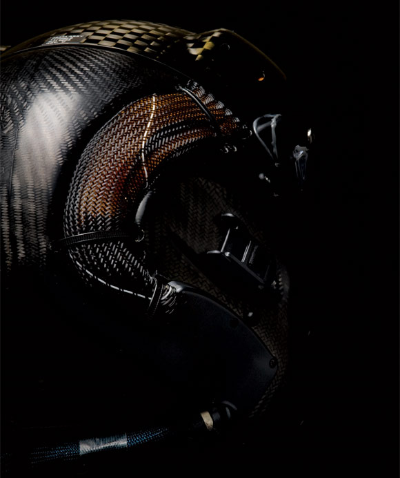 HMDS carbon fiber helmet for F-35 Lightening II