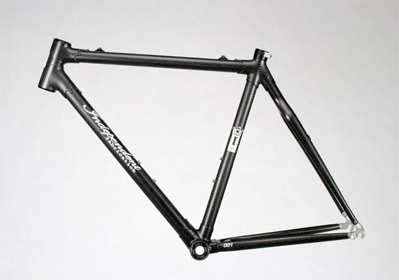 Carbon Fiber Bike Frame >> Prototype Carbon Fiber Bicycle Frame From Independant Fabrication