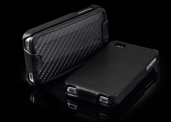 Ion Carbon Shield Carbon Fiber iPhone 4 / 4S Case
