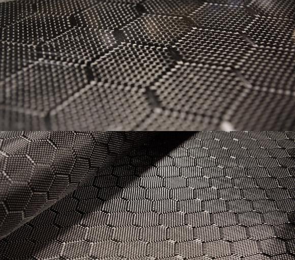 Wasp carbon fiber fabric